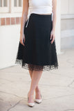 The Romantic - Black Polka Dots Lace 27