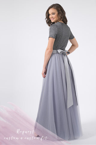 Custom Wendy Soft Tulle Maxi Skirt