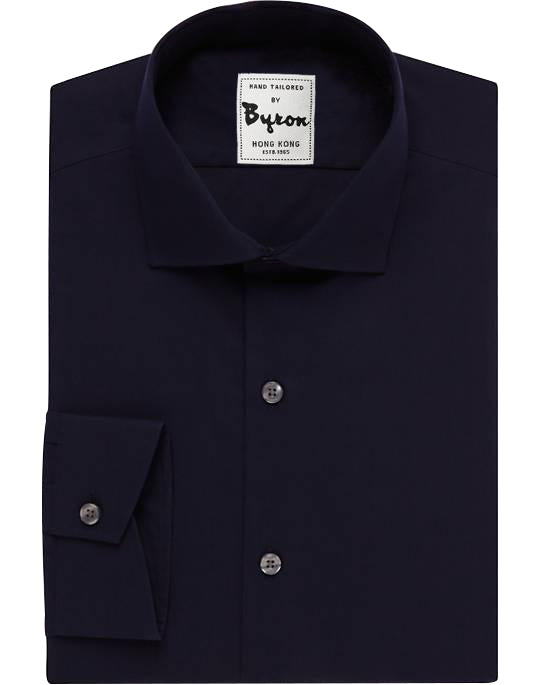 Esquire Navy Solid Shirt