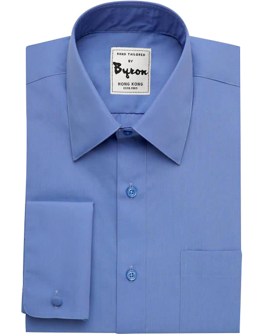 Blue Ink Shirt, Forward Point Collar, French Cuff