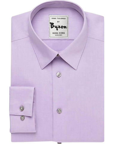 Lilac Color, Forward Point Collar, Standard Cuff