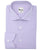 Lilac Solid Shirt Medium Spread Collar Rounded Cuff