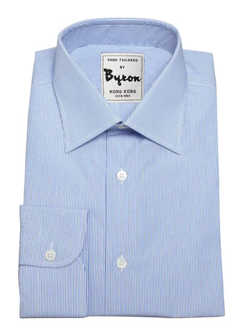 Skyblue Thin Striped Shirt