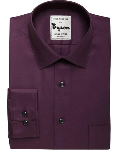 Wine Solid Shirt