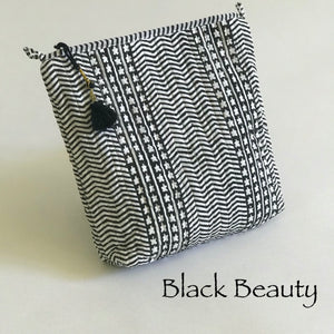Handcrafted Organisers / Large Makeup bags