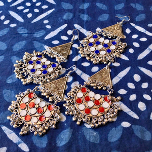 Bohemian Earrings_ The Hues of India