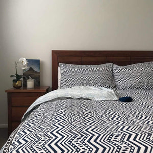 Waves Quilt Cover Set