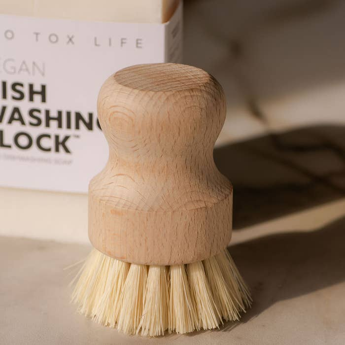CASA AGAVE™ Dishwashing and Vegetable Hand Brush