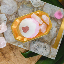 Load image into Gallery viewer, Rose Quartz Bath Bomb