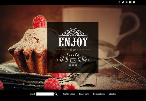 Web Design: Cafe Bakery Food Website on Wordpress or Squarespace