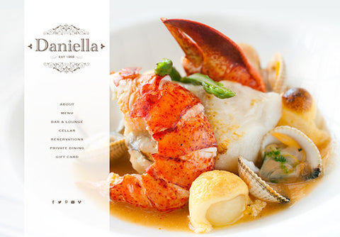 Web Design: Restaurant Website on Wordpress or Squarespace