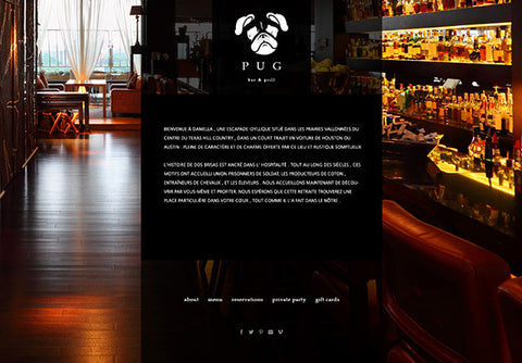Web Design: Restaurant Bar Website on Wordpress or Squarespace