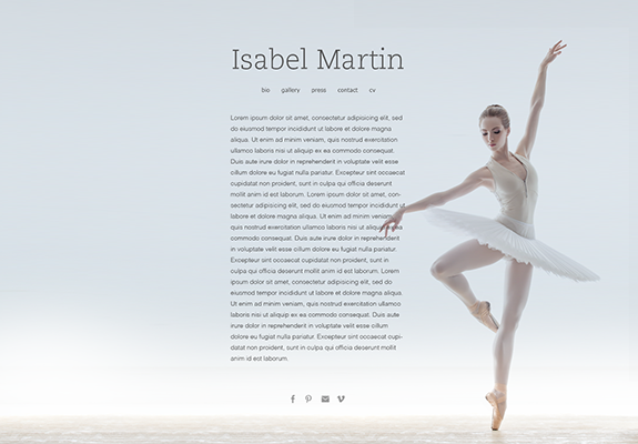 Web Design: Artist Portfolio Website on Wordpress or Squarespace