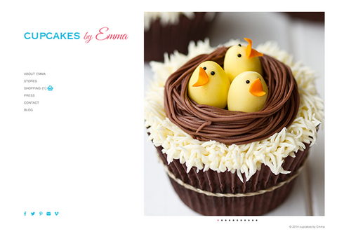 Web Design: Bakery Business Website on Wordpress or Squarespace