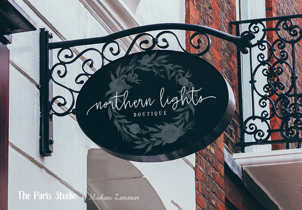 Custom Logo Design: boutique logo design, photography branding and website branding