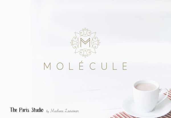 Geometric Monogram Logo Design