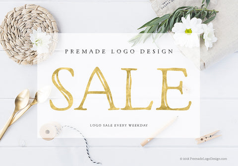 Weekday Pre-made Logo SALE €29