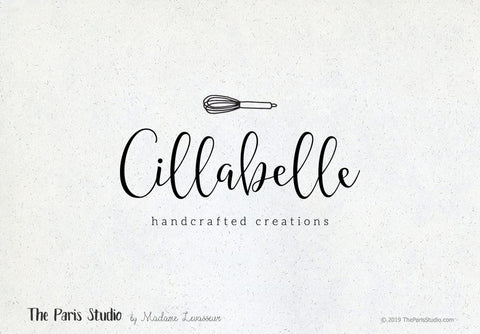 Hand Drawn Style Baking Logo Design