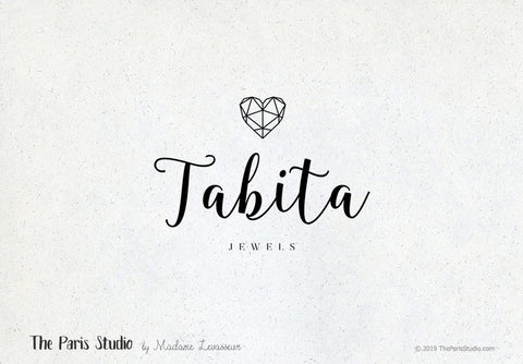 Geometric Heart Logo Design