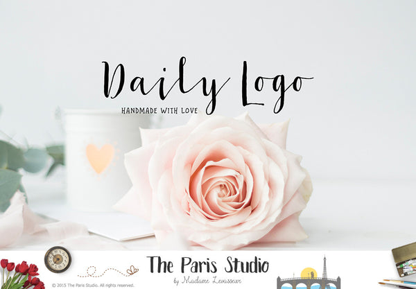 Daily Logo Design by The Paris Studio, Madame Levasseur