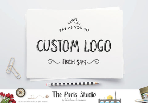 DIY Instant Logo Design: Premade Logo Design for Website Logo, Blog Logo, and Creative Business