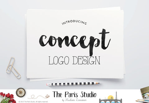 Concept Logo Design: Custom Logo Design (based on pre-made logo design)
