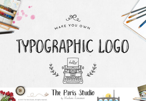 Typographic Logo Design: Pay As You Go