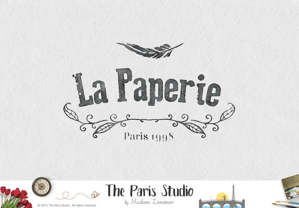 Vintage Ink Press Logo Design