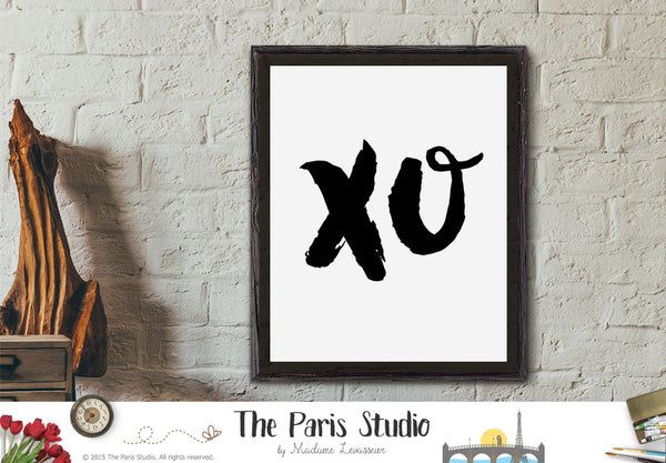 Printable Art: Black & White Lyric Art Beyonce XO