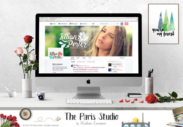 Website Header Design, Social Media Cover Design, E-bay and Etsy Shop Cover Design