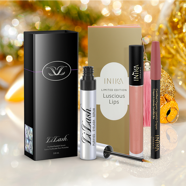 Luscious Lashes and Lips Christmas Gift Set