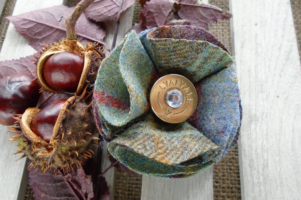 Sporting Tweed Brooch - Mole