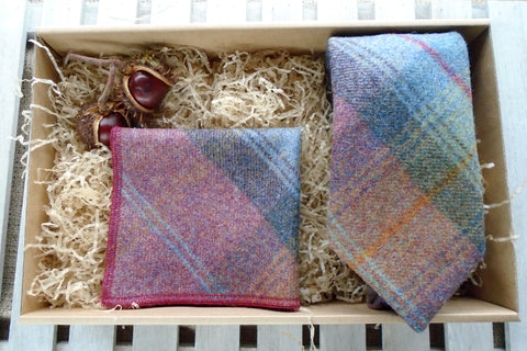 Mole Tweed Tie Gift Box