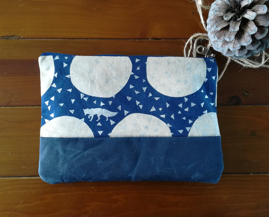 Clutch Bag Navy Foxy