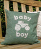 Baby Boy Cushion- Tractor