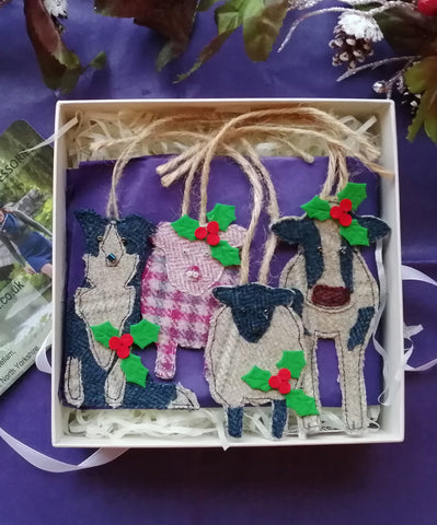 Tweed Christmas Collection of Farmyard Animals