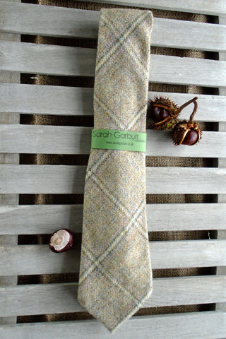Sporting Tweed Ties- Barn Owl Herringbone