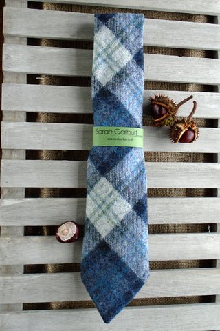 Sporting Tweed Ties- Blueberry