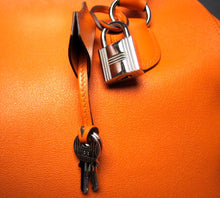 Load image into Gallery viewer, Hermes Orange Swift Leather Toolbox 26cm Handbag