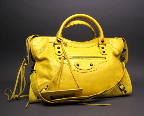 Balenciaga Curry City Spring Summer 2013 Handbag