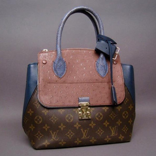 Louis Vuitton Limited Edition Bleu Exotique Majestueux PM Handbag - NEW