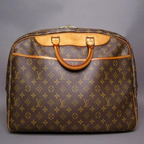 Louis Vuitton Alize Monogram 24 Heures Soft Travel Luggage Bag
