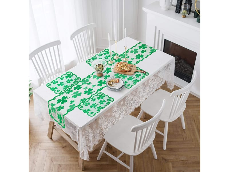 Lace Table Runner and Placemat Set