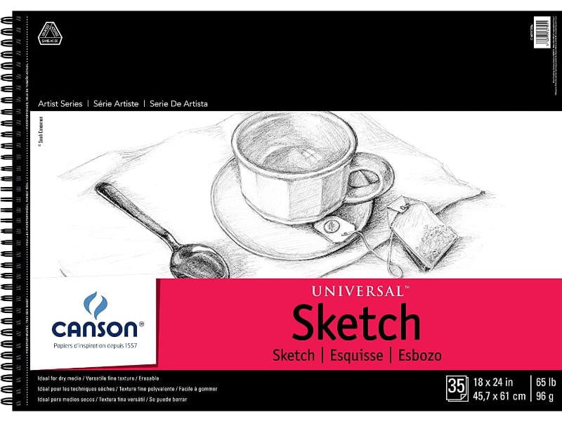 Canson Universal Paper Sketch Pad