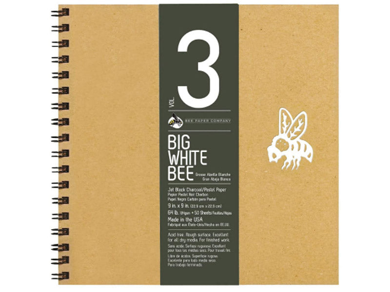 Bee Paper Company Black Paper for Charcoal Drawing