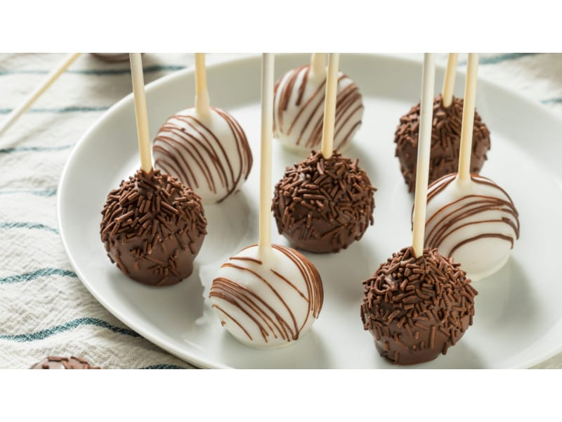 """Brussel Sprouts """"Cake Pop"""""""