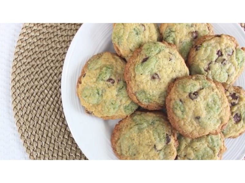 Moldy Chocolate Chip Cookies