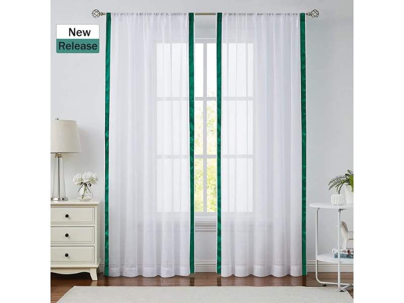 St. Patrick's Day Voile Curtain