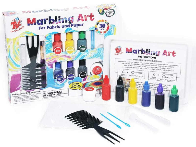 TBC The Best Crafts Paper Marbling Kit