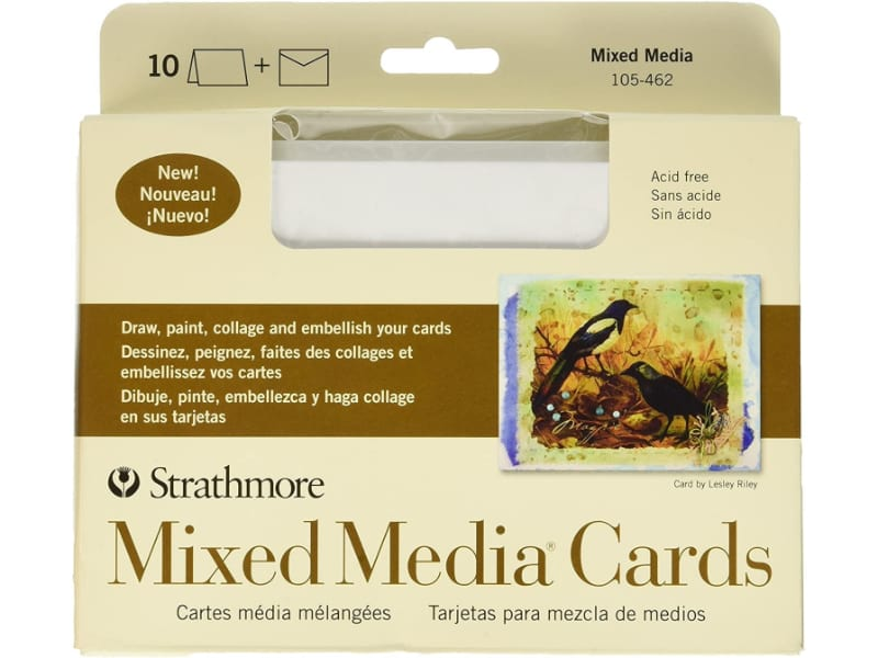 Pack of ready-to-use cards and envelopes for DIY cardmaking